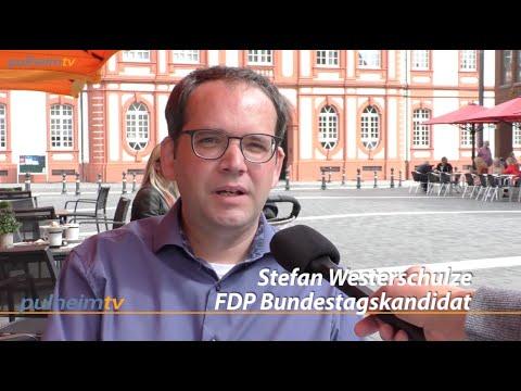 Der FDP Kandidat Stefan Westerschulze zu Gast bei Pulheimtv