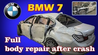 Dovezao je u svoju garažu totalno uništenu BMW 'sedmicu'. O potezu ovog ruskog autolimara priča cijeli svijet! (VIDEO)