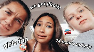 14 HOUR ROAD TRIP WITH MY BEST FRIENDS PT. 2