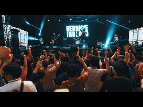 HER NAME IN BLOOD / Incheon Pentaport Rock Festival 2017