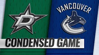 12/01/18 Condensed Game: Stars @ Canucks