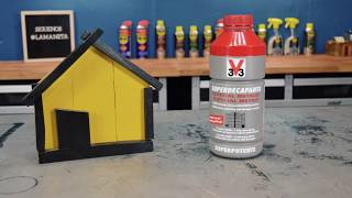 Como decapar una superficie metálica pintada con quitapinturas V33