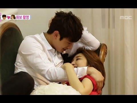 Skinship for couple pictorial, Jin-woon♥Jun-hee 정진운-고준희 #We Got Married