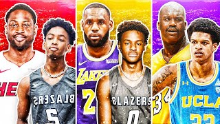 8 GREATEST SONS OF LEGENDARY NBA PLAYERS