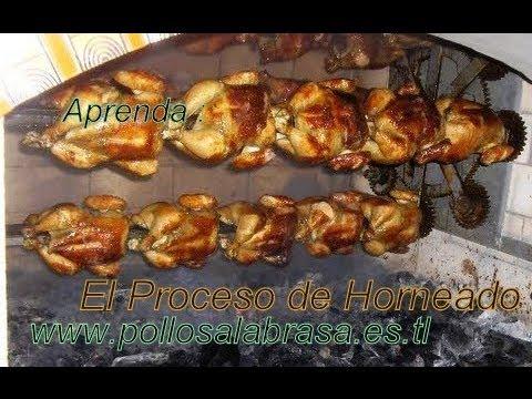 horno para pollo a la brasa: