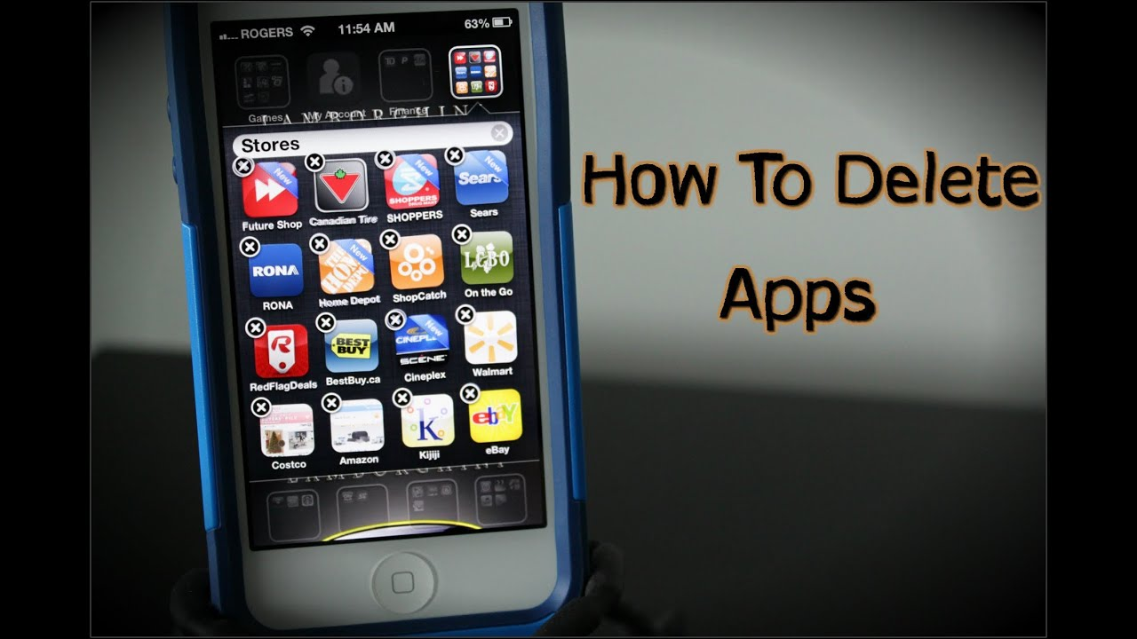 how to clear apps on iphone how to delete apps on the iphone 5 how to use the iphone 9506