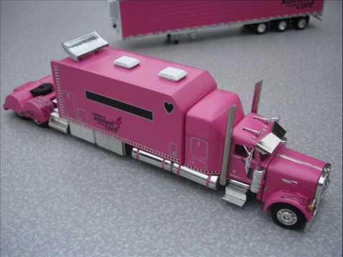 1 64 Custom Peterbilt Semi Truck Komen Benefit Truck