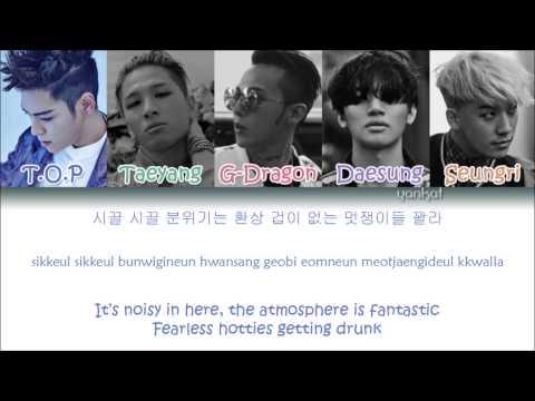BIGBANG - We Like 2 Party (Color Coded Han|Rom|Eng Lyrics)