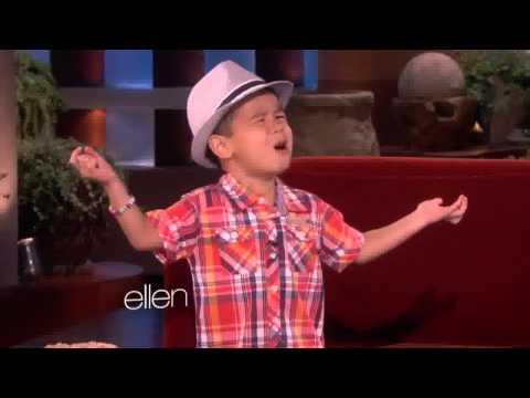 Baixar The Ellen Show - Kai Sings ''When I Was Your Man'' By Bruno Mars