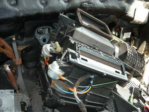 Evaporator Core Replacement Ford Mondeo 1998 Gif Youtube