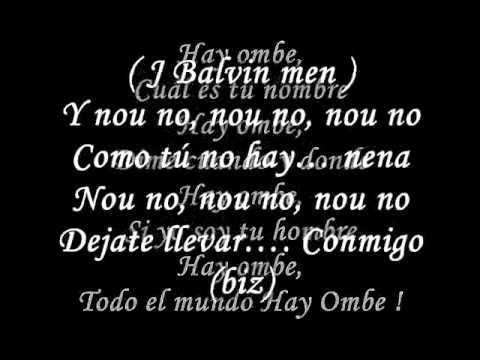 Me Gustas Tu y tu - J Balvin * OFICIAL * Letra /Lyrics - DJ CHRISTIAN CHIRRE