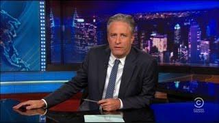 Emotional Jon Stewart on Charleston Shooting: This One is Black and White