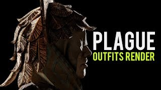 Dead by Daylight Animation | Plague Outfits Render - Demise of Faithful