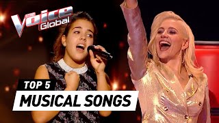 MUSICAL SONGS in The Voice Kids
