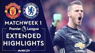 Manchester United v. Chelsea | PREMIER LEAGUE HIGHLIGHTS | 8/11/19 | NBC Sports