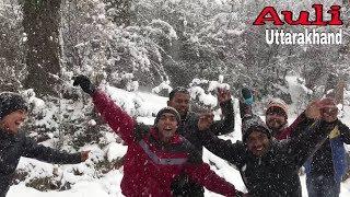 Garhwali Dance on snowfall at Auli || Garhwali dj mashup || Karishma Shah || Ruhaan Bhardwaj ||