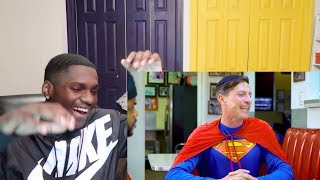 Racist Superman | Rudy Mancuso , Alesso & King Bach REACTION