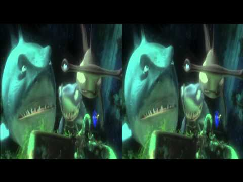 Finding Nemo 3D trailer in 3d