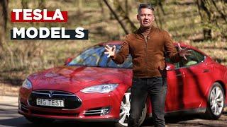 Обзор Tesla Model S | Big Test электрической Тесла Модель С