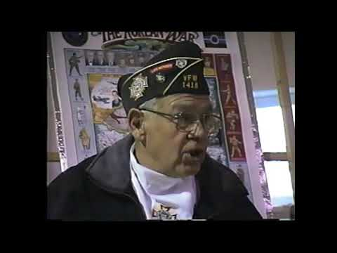 VFW 1418 Korean War History 10-25-01