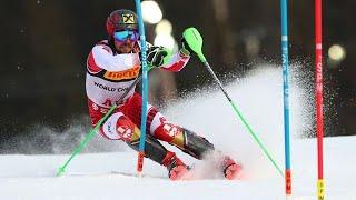 Marcel Hirscher World Champion Slalom ARE 2019 2 round slalom ARE 2019 Men Schwarz Matt