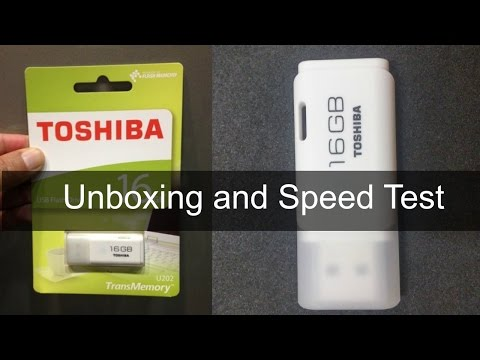 video Toshiba 16GB Hayabusa Usb2.0