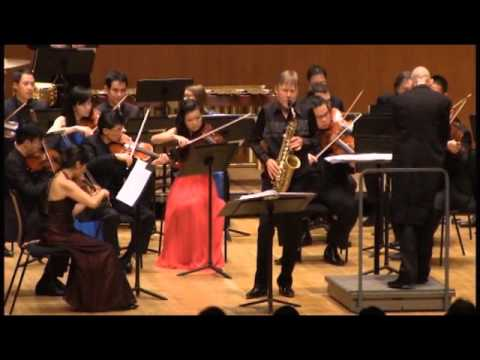 Piazzolla Six Tango Etudes (5 & 6) Claude Delangle & City Chamber Orchestra of Hong Kong