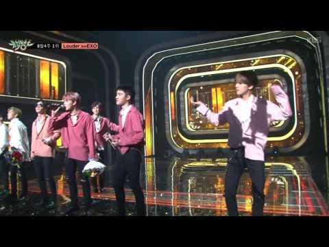 [뮤직뱅크] 8월4주 1위 엑소-Louder 세리머니 Cut