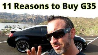 11 Reasons to buy a Infiniti G35