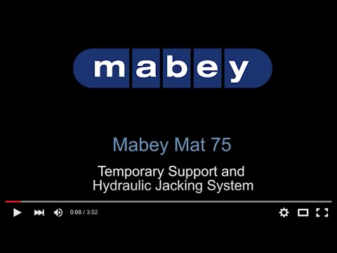 Mabey Propping Jacking