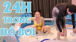Thử Thách  Sống Trong Hồ Bơi Ở Trong Nhà  ! - Couple K Challenge