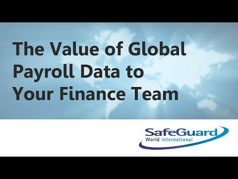 The Value of Global Payroll Data to Your Finance Team
