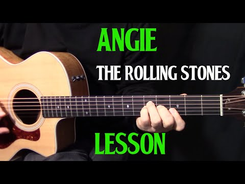 ANGIE: Fingerstyle Guitar Tab - GuitarNick.com