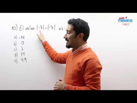 Prueba de números enteros 10