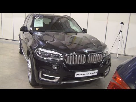 BMW X5 xDrive 40d (2016) Exterior and Interior in 3D