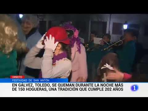 San Antón 2017. Gálvez Telediario TVE 1
