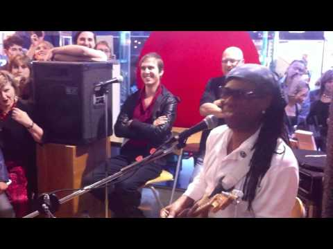 Nile Rodgers (Chic) performs Let's Dance (David Bowie) - Melbourne 2012