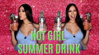 MAKING JENNY69'S HOT GIRL SUMMER DRINK 🍹🔥