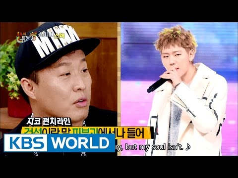 You can be a king of the hip-hop too! [Happy Together / 2016.09.15]