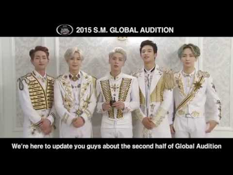 [SHINee MESSAGE] 2015 S.M. GLOBAL AUDITION