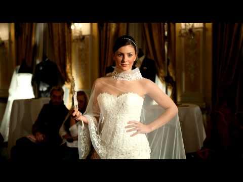 Beispiel: Fashionshow Hochzeitsmode 2013, Video: Lunardi Cerimonia.