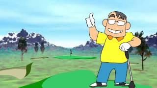 スキップおじさんのゴルフ(20007)