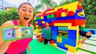 LAST TO LEAVE THE LEGO HOUSE WINS $10,000