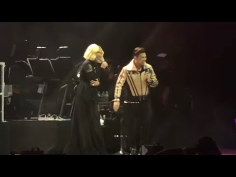 Jed Madela with Vice Ganda HigherThanHigh Concert