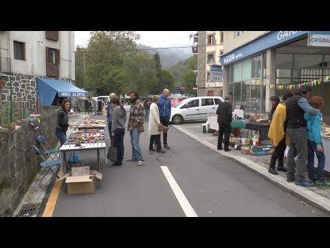 San Esteban auzoko XXXI. Kultur Astean Box.A-rekin elkarlanean Black Market azoka izan zuten