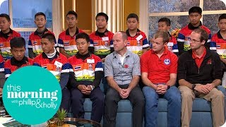 Thai Cave Survivors Reunited With British Rescue Divers | This Morning