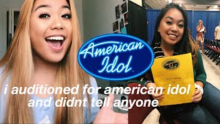 my experience auditioning for american idol