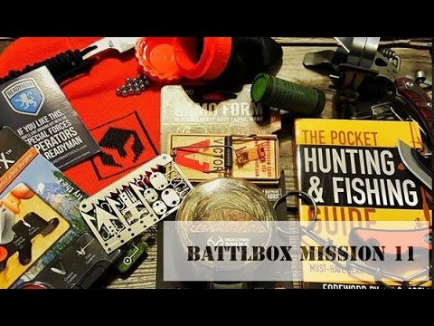 January BattlBox Mission 11 Unboxing
