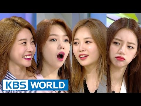 Hello Counselor - Sojin, Mina, Yura, Hyeri [ENG/THA/2017.04.03]