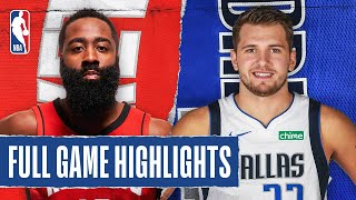 ROCKETS at MAVERICKS | FULL GAME HIGHLIGHTS | July 31, 2020
